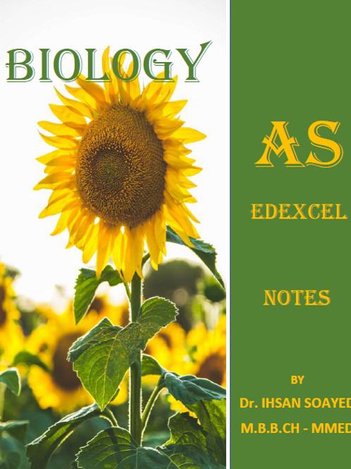 AS Edexcel Biology Notes