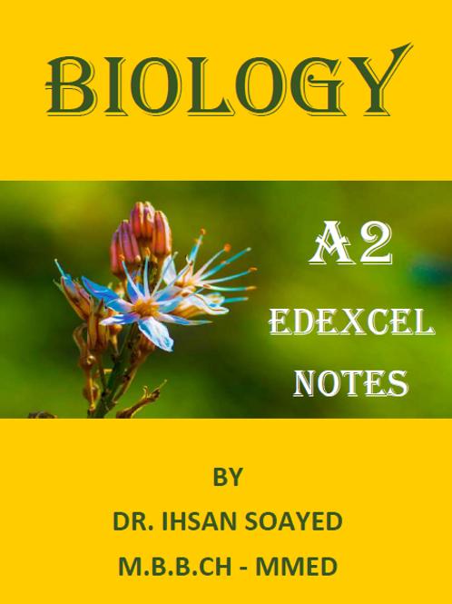 A2 Edexcel Biology Notes