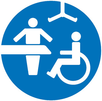 Picture of the Changing Places toilet sign