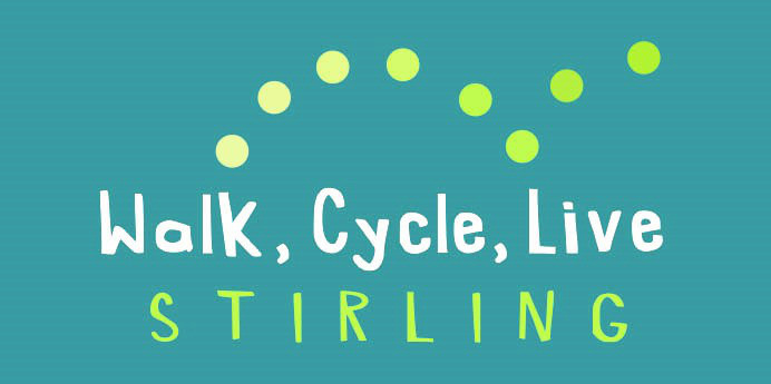 Walk, Cycle, Live Stirling logo