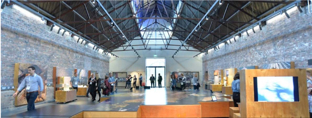 Interior picture of the Engine Shed building in Stirling