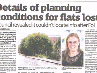 SAAP member discovers information about planning conditions have been lost