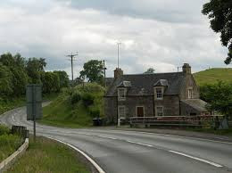 Old railway line from Doune to Callander