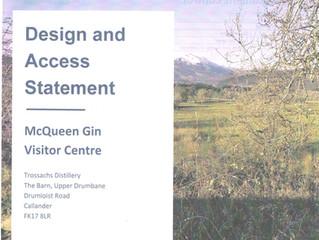 McQueen Gin Visitor Centre in Callander