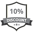 10% Discount Grey