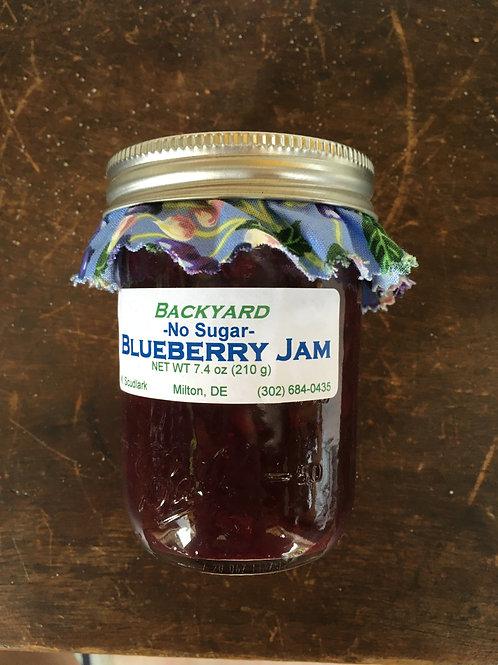 No Sugar Blueberry Jam (jar)