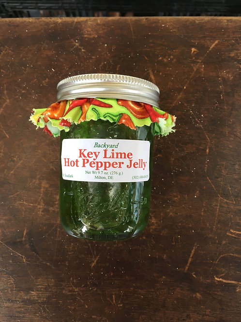 Key Lime Hot Pepper Jelly (jar)