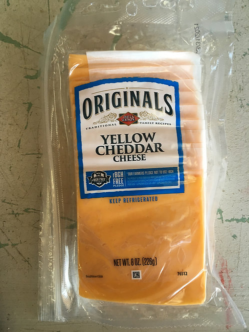 DW-Sliced Cheese-Yellow Cheddar
