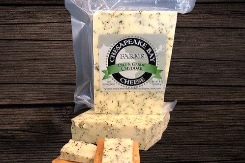 Dill & Garlic Cheddar Cheese (8oz)