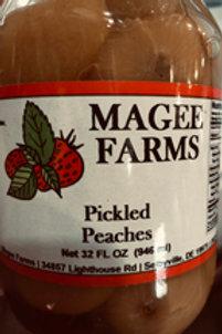 Pickled Peaches (32oz)