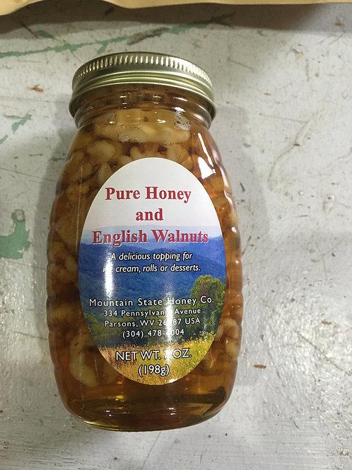 Pure Honey & English Walnuts