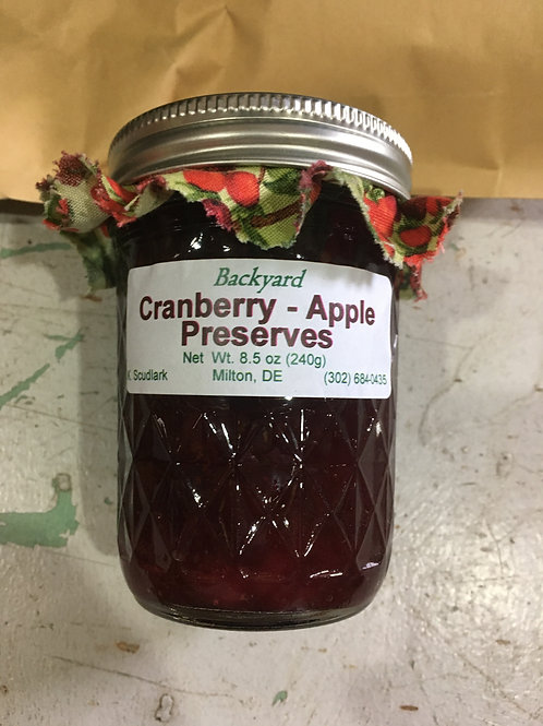 Cranberry Apple Preserves (jar)