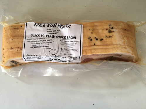 Black Peppered Smoked Bacon (pkg)