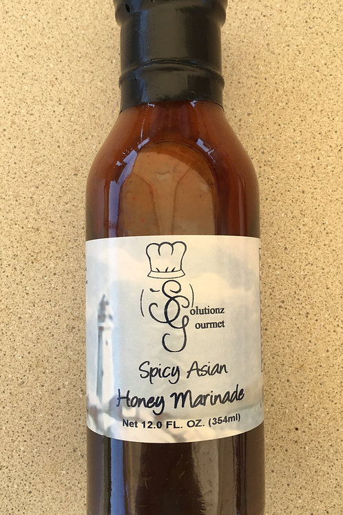 SG-Spicy Asian Honey Marinade (12oz)