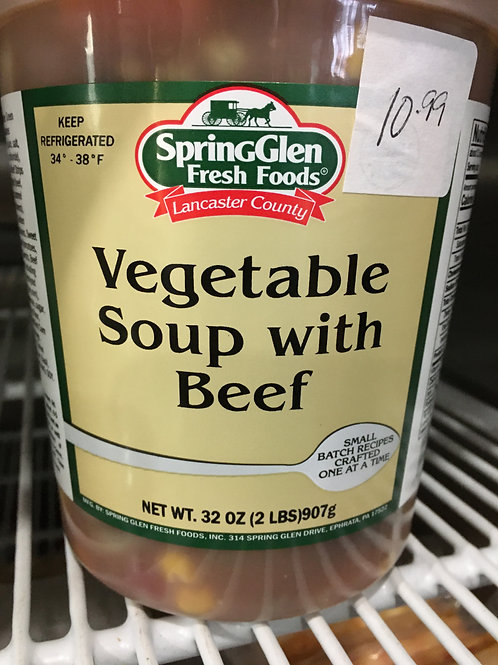 Vegetable Soup with Beef