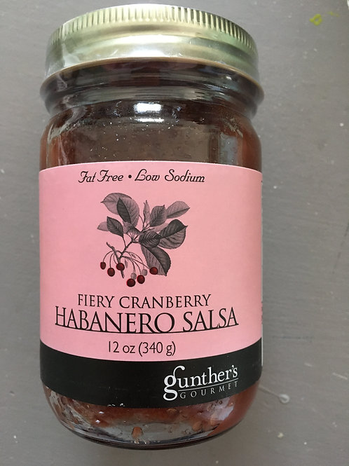Fiery Cranberry Habanero Salsa (12oz)