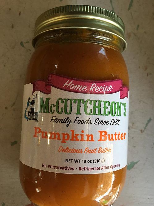 MC-Pumpkin Butter (18oz)