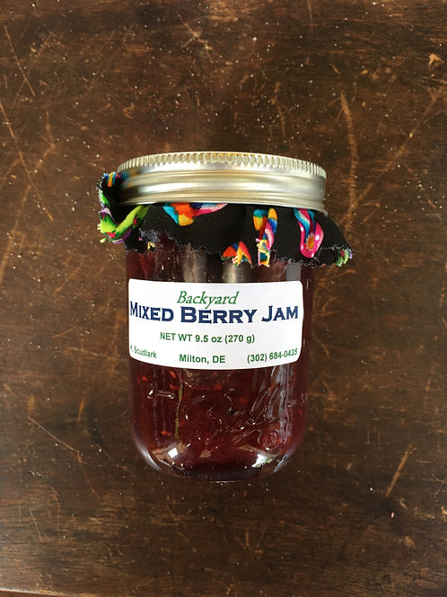 Mixed Berry Jam (jar)