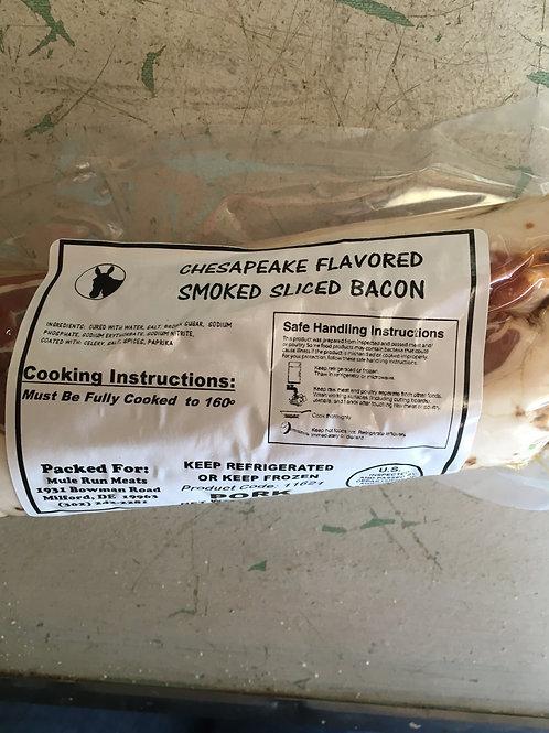 Chesapeake Flavored Smoked Bacon (1lb)