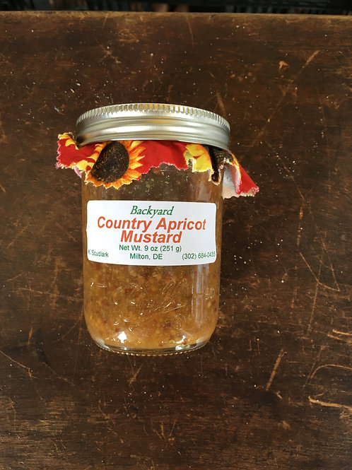 Country Apricot Mustard (jar)