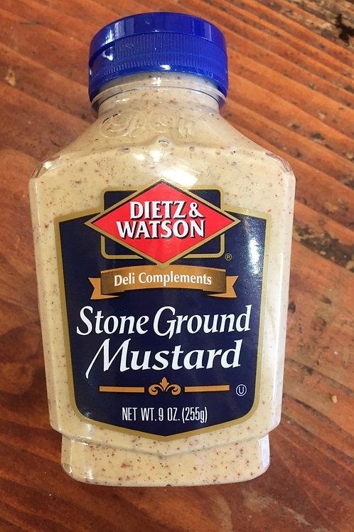 DW-Stone Ground Mustard (9oz)