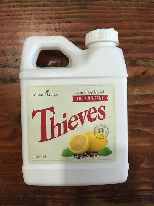 Thieves Essential Oil Infused Fruit & Vegetable Soak (16oz)