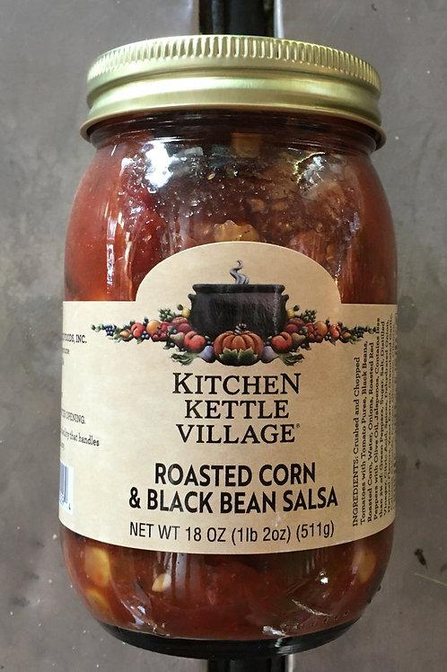 KV-Roasted Corn & Black Bean Salsa (18oz)