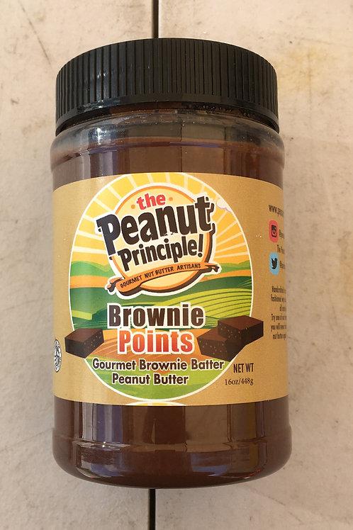 SG-Gourmet Brownie Batter Peanut Butter (16oz)