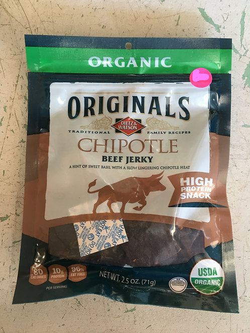 DW-Beef Jerky (2.5oz): Chipotle