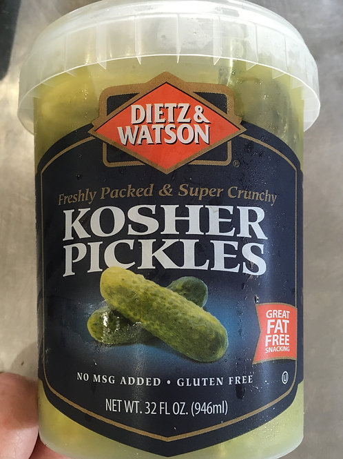 DW-Kosher Pickles (32 oz)