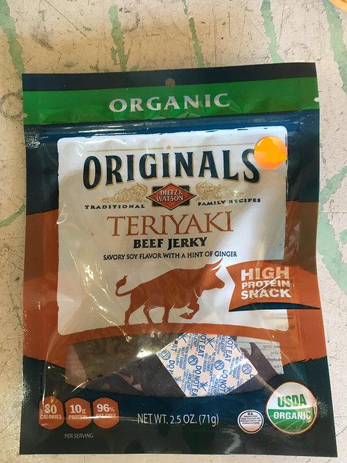 DW-Beef Jerky (2.5oz): Teriyaki