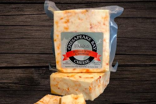 Buffalo Wing Cheddar Cheese  (8oz)