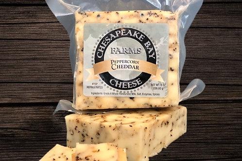 Peppercorn Cheddar Cheese (8oz)