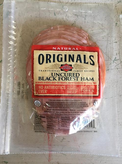Deli Meats-Uncured Black Forest Ham (pkg)