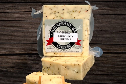Bruschetta Cheddar Cheese (8oz)