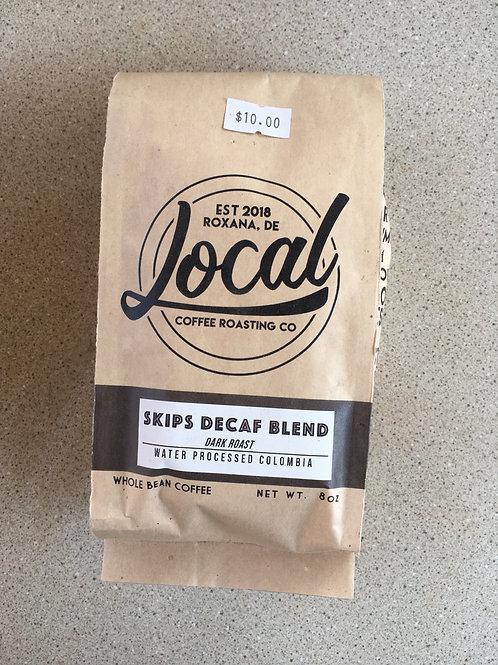 LCR-Skips Decaf Blend-Whole Bean (8oz)