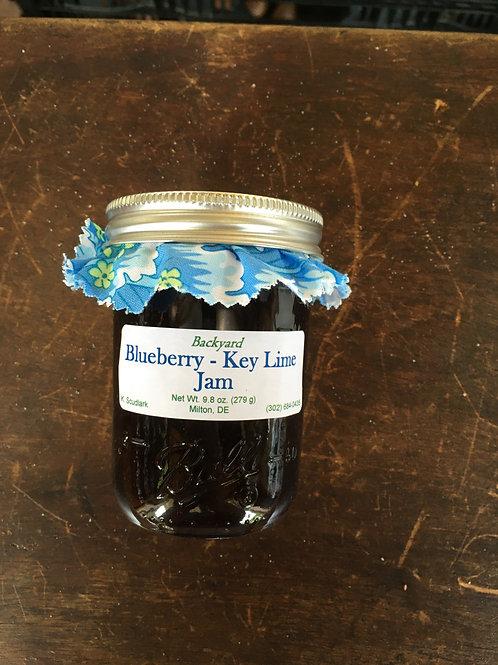 Blueberry Key-Lime Jam (jar)