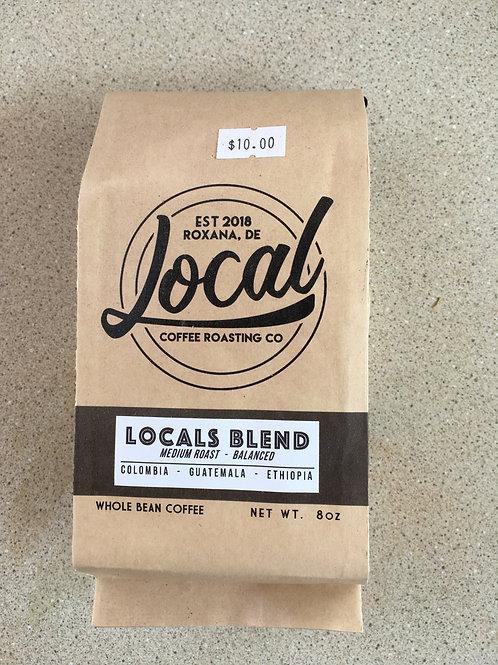 LCR-Locals Blend-Whole Bean (8oz)