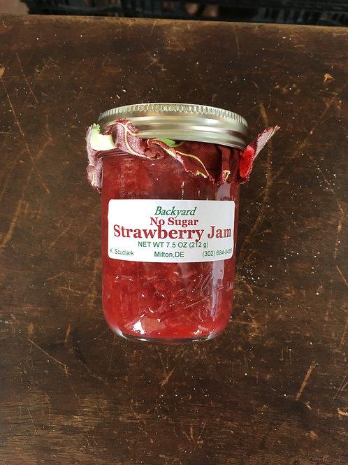 No Sugar Strawberry Jam (jar)