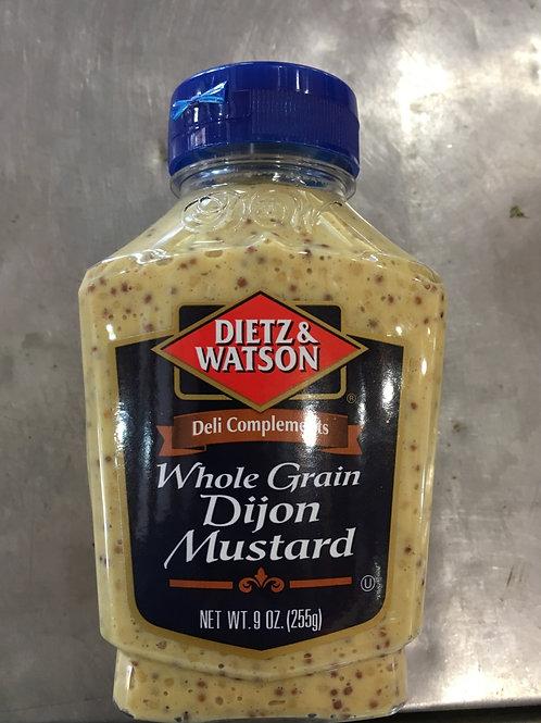 DW-Dijon Mustard-Whole Grain (9oz)