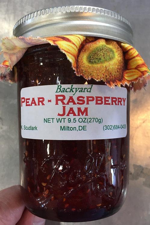 BJJ-Pear Raspberry Jam (jar)