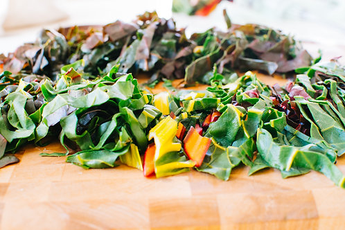 Chopped Rainbow Kale (bag)