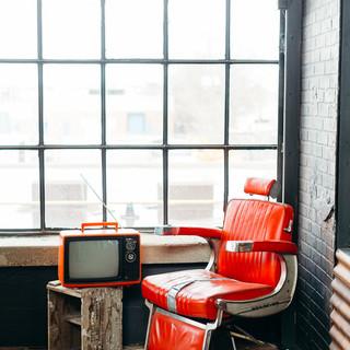 Barbers Chair (Dark Brick Corner)