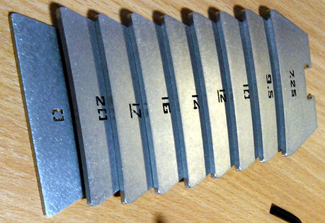 Fret Press Cauls | GMC Luthier Tools