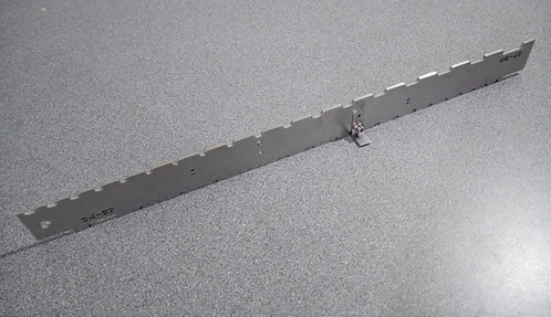 """24"""" to 30"""" SCALE - UNIVERSAL DUAL NOTCHED STRAIGHT EDGE"""