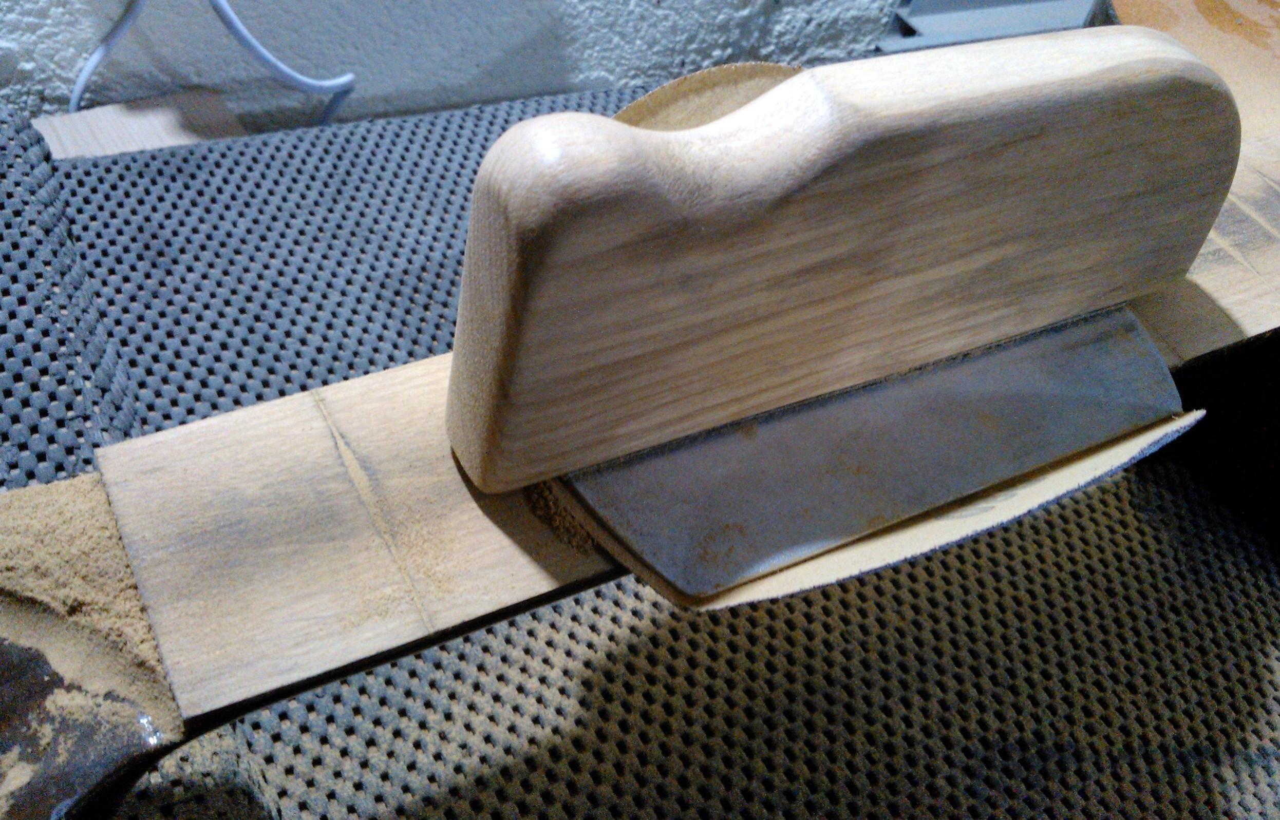 Fretboard Radius Sanding Block