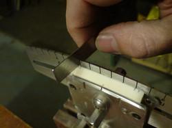 Guitar Nut String Spacing Jig