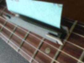 Understring Fret Dresser | GMC Luthier Tools