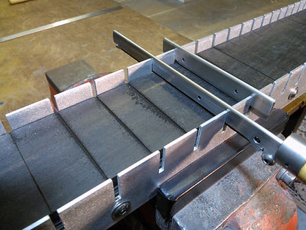 Precision Fret Spacing Using Jig