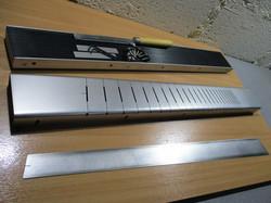 Multiscale Fretboard Slotting Jig